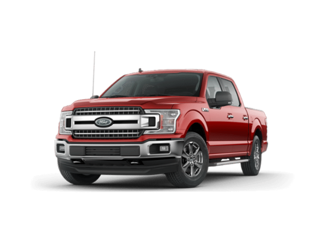 2019 Ford F-150 SuperCrew XLT LUXURY 5.0 V-8 4X4 w/302A-NAV-CHROME Pkg- Crew Cab Pickup